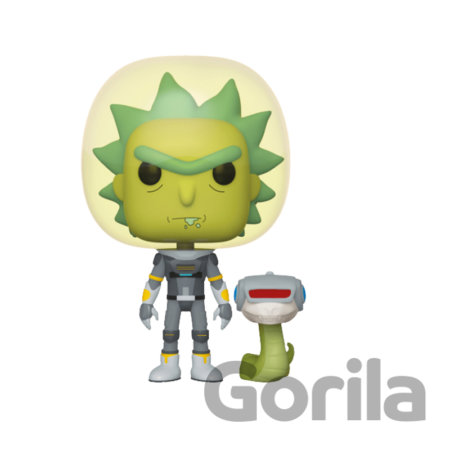 Funko POP! Rick & Morty S2 - Space Suit Rick w/Snake