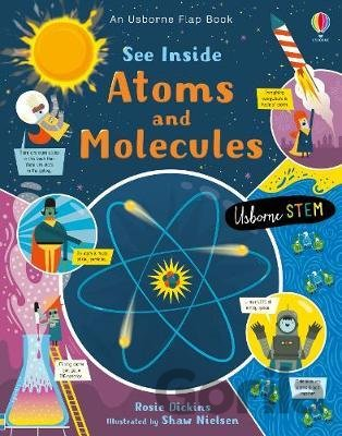 Kniha See Inside Atoms and Molecules - Rosie Dickens