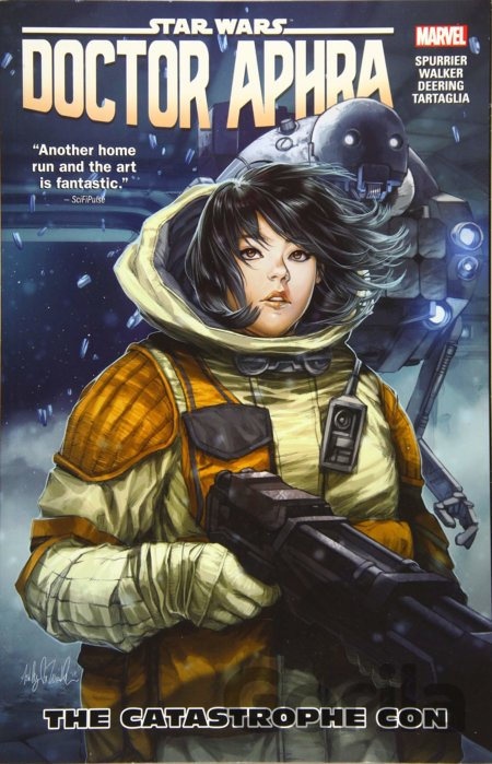 Kniha Star Wars: Doctor Aphra Vol. 4 - The Catastrophe Con - Si Spurrier