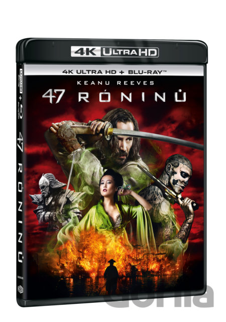 UltraHDBlu-ray 47 róninů Ultra HD Blu-ray - Carl Rinsch