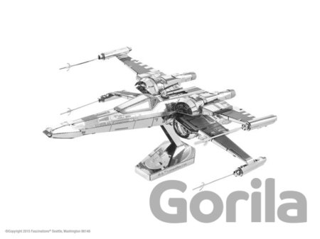 Puzzle Metal Earth 3D puzzle: Star Wars Poe Dameron´s X-Wing Fighter