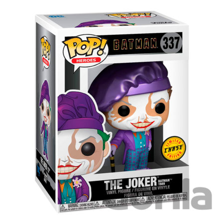 Funko POP! Batman 1989 - Joker w/Hat w/Chase Edition