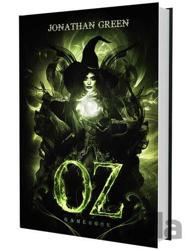 Kniha Oz gamebook - Jonathan Green