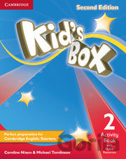 Kniha Kid's Box Level 2 - Activity Book with Online Resources - Caroline Nixon, Michael Tomlinson
