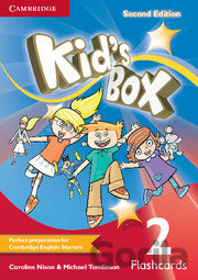 Kniha Kid's Box Level 2 - Flashcards (Pack of 103) - Caroline Nixon, Michael Tomlinson