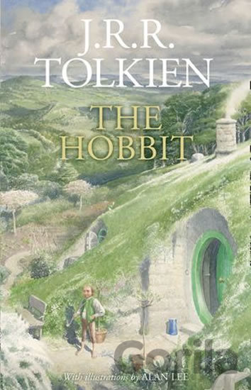Kniha The Hobbit - J.R.R. Tolkien