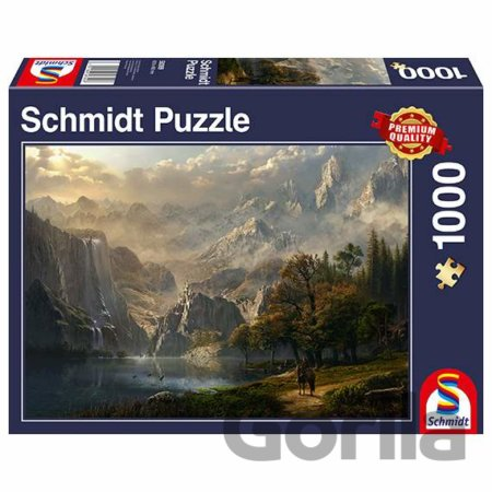 Puzzle Pastoral waterfall