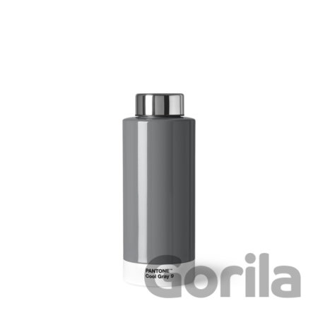 PANTONE Fľaša Steel 0,63l - Cool Gray 9