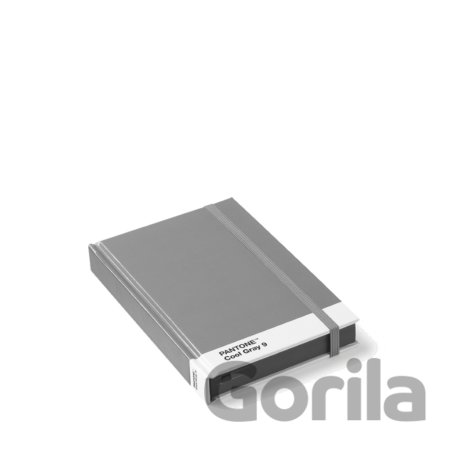 PANTONE Notebook, vel. S - Cool Gray 9