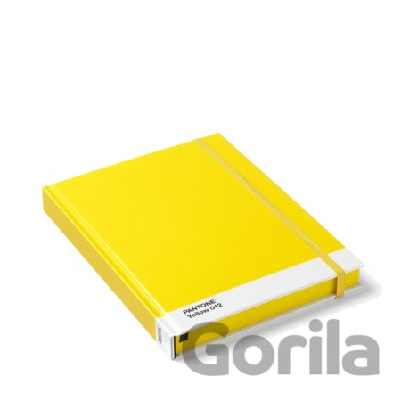 PANTONE Notebook, vel. L - Yellow 012