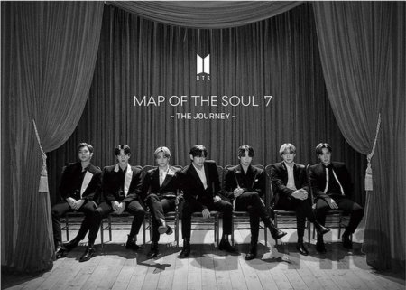 CD album BTS - Map Of The Soul: Seven: The Journey (Limited version A)