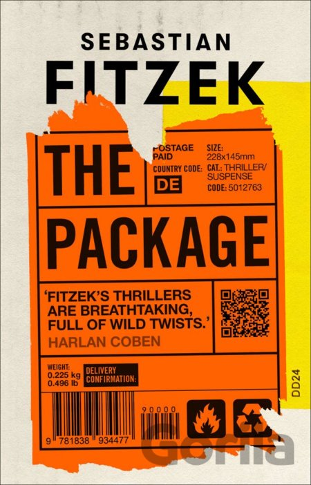 Kniha The Package - Sebastian Fitzek