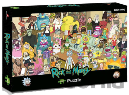 Puzzle Rick and Morty