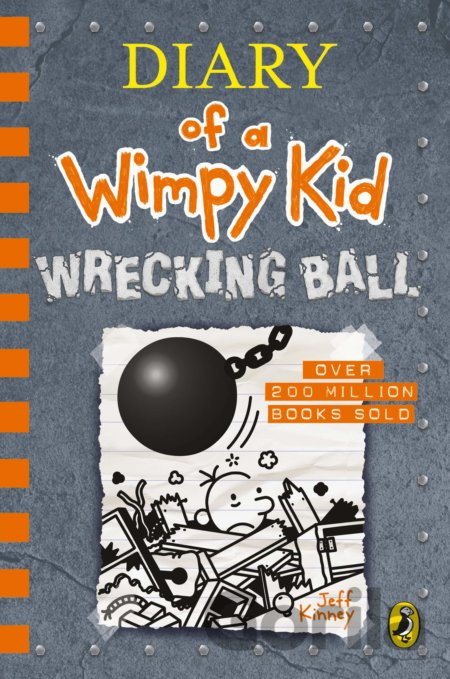 Kniha Diary of a Wimpy Kid: Wrecking Ball - Jeff Kinney