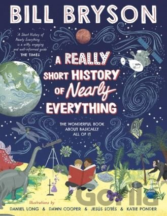Kniha A Really Short History of Nearly Everything - Bill Bryson
