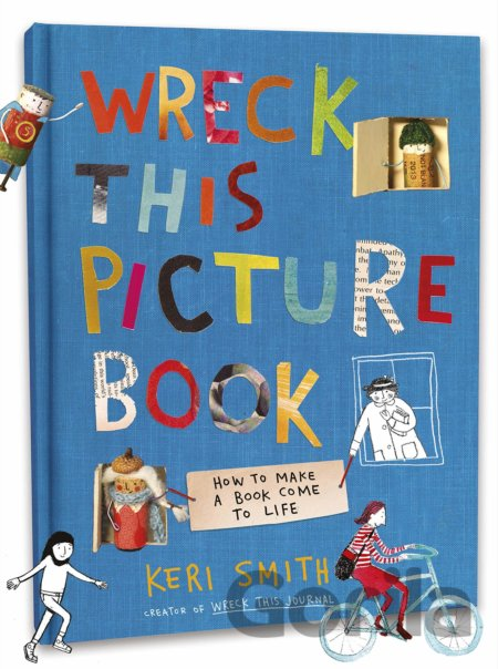 Kniha Wreck This Picture Book - Keri Smith