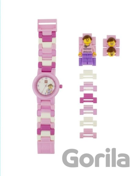 Hra LEGO Classic Pink - hodinky