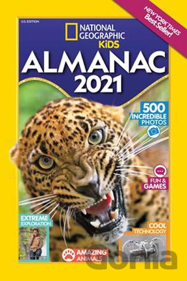 Kniha National Geographic Kids Almanac 2021 -