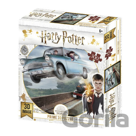 Puzzle Harry Potter 3D puzzle - Ford Anglia