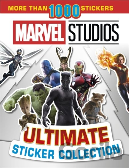 Kniha Marvel Studios: Ultimate Sticker Collection -