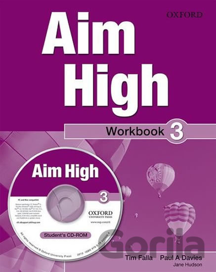 Kniha Aim High 3: Workbook - Jane Hudson, Tim Falla, Paul A. Davies