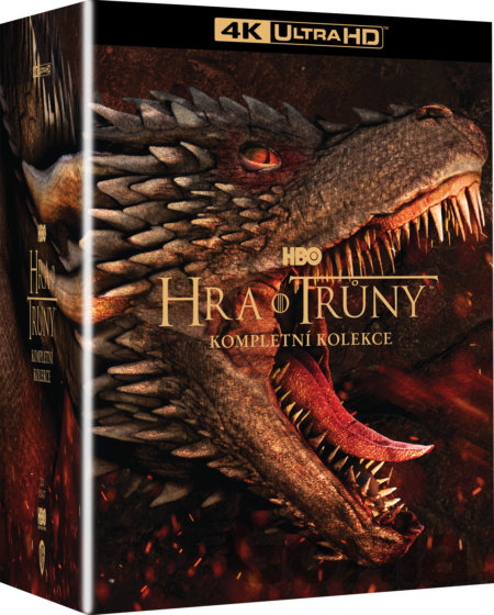 UltraHDBlu-ray Hra o trůny 1.-8. série Ultra HD Blu-ray -