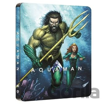 Steelbook Aquaman Steelbook - James Wan