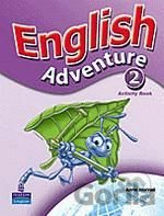 Kniha English Adventure 2 Activity Book (Worrall, A.) [paperback] - Anne Worrall