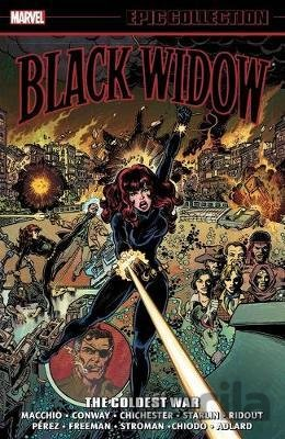 Kniha Black Widow Epic Collection - Ralph Macchio, Gerry Conway, D.G. Chichester