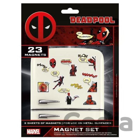 Sada magnetek Marvel - Deadpool (23 ks)