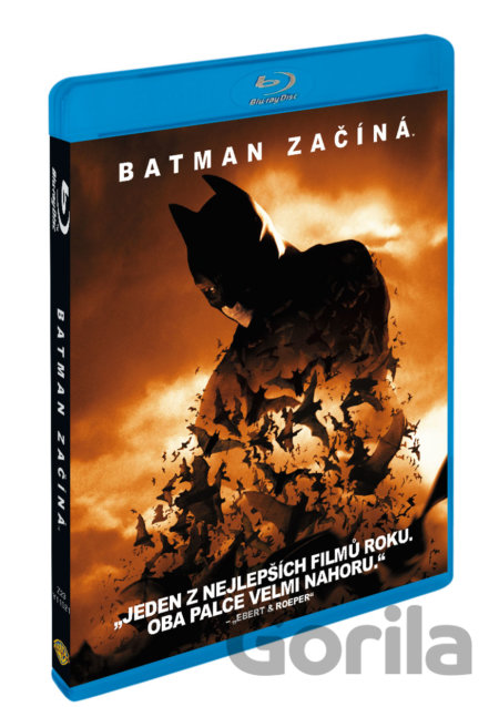 Blu-ray Batman začíná (Blu-Ray) - Christopher Nolan