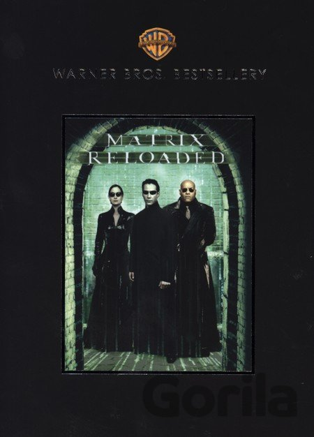 DVD Matrix Reloaded (1 DVD - Warner Bestsellery) - Larry Wachowski, Andy Wachowski