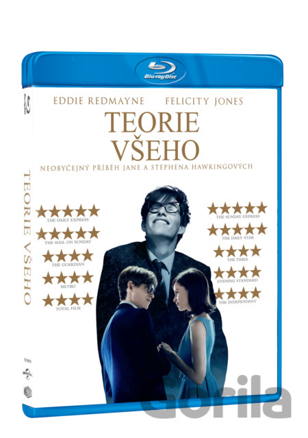Blu-ray Teorie všeho - James Marsh