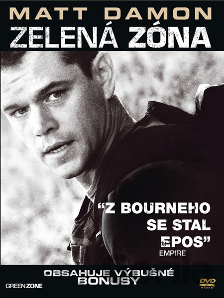 DVD Zelená zóna - Paul Greengrass
