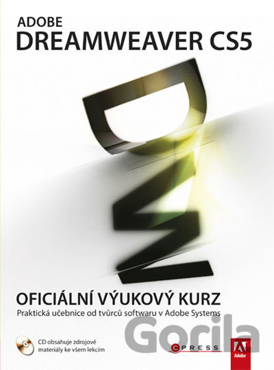 Kniha Adobe Dreamweaver CS5 -