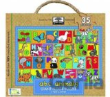 Green Start ABC Animals Giant Floor Puzzles (Jillian Phillips) [GB]