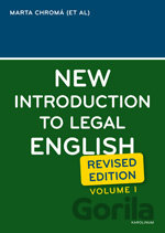 New Introduction to Legal English I. (Sean W. Davidson) [CZ]