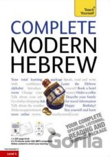 Teach Yourself Complete Modern Hebrew Book