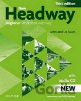 New Headway Beginner 3rd Edition Work Book with Key + CD (Soars, J. - Soars, L.)