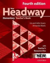New Headway Fourth Edition Elementary Teacher´s Book with resource disc (John an