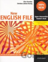 New English File Upper-intermediate Student´s Book + czech wordlist (Clive Oxend