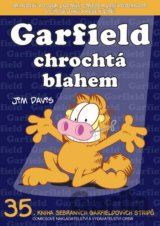 Garfield chrochtá blahem (č.35) (Jim Davis)