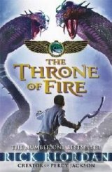 The Kane Chronicles: The Throne of Fire  (Rick Riordan)