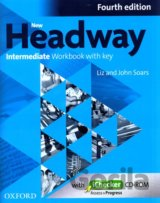 New Headway Fourth Edition Intermediate Workbook with Key + iChecker CD (John an