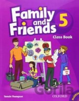 Family and Friends 5 - Class Book + MultiROM (Thompson, T.) [set paperback + CD]