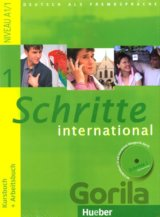 Schritte International 1 KB+AB mit CD [DE]
