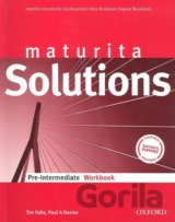 Maturita Solutions Pre-Intermediate Workbook (Czech Edition) [paperback]