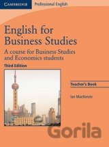 English for Business Studies Teacher's Book:... (Ian Mackenzie)