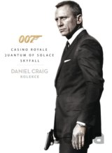 James Bond: Daniel Craig kolekce (3 DVD)