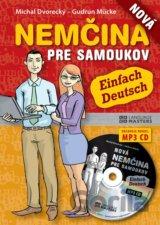 Nová nemčina pre samoukov + CD (Michal Dvorecký; Gudrun Mücke) [SK]